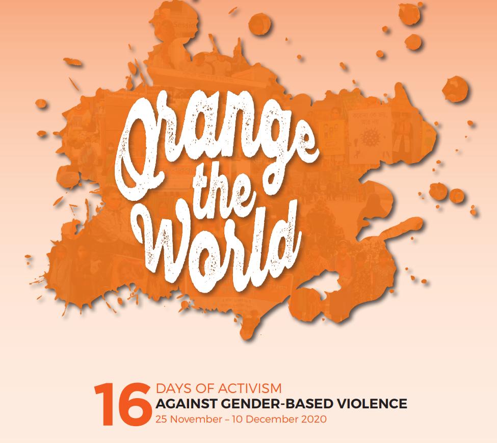 16 Days of Activism against Gender-based Violence Newsletter 2020