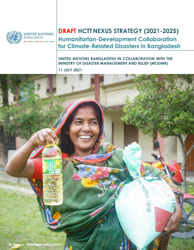 HCTT Meeting on 2021-2025 Nexus Strategy for Climate-related Disasters in Bangladesh