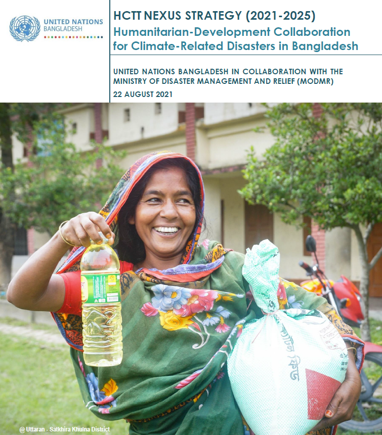 HCTT NEXUS STRATEGY (2021-2025): Humanitarian-Development Collaboration for Climate-Related Disasters in Bangladesh