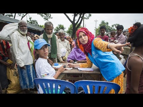 UNHCR Aid Worker in Bangladesh: Helping Refugees is a 'Privilege for Me'